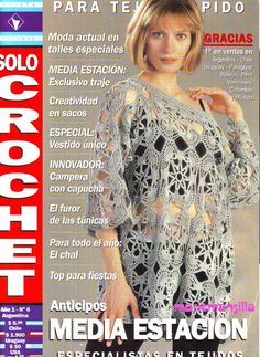 SOLO CROCHET año 1 N°6 – Mariela Mansilla – Picasa tīmekļa albumi