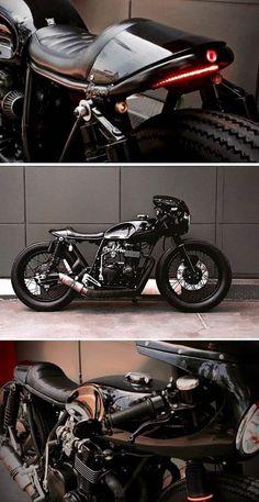 Honda CB550 Cafe Racer #honda #cb550 #caferacer