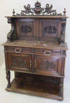 possible alcohol cabinet [orig. designed for desserts]