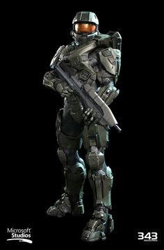 Halo Master Chief Textures and materials by Kyle Hefley Hi-Res Techsuit by Sean Binder Hi-Res Armor and AR by Dan Sarkar Low Poly by Matt Aldridge Master Chief Armor, Halo Master Chief, Master Chief Petty Officer, Halo 5, Halo Game, Video Game Art, Video Games, Halo Tattoo, Science Fiction