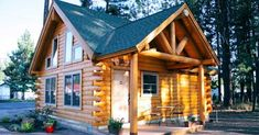 Charming Cabin With Cozy Interior
