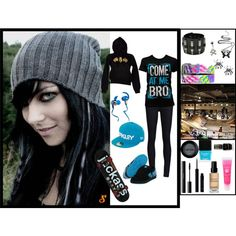 She was a skater girl, He said see ya later girl, she wasn't good enough for him, created by cupcake-emo on Polyvore