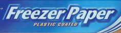 Zeichen- & Malpapier - Freezer Papier Freezer Paper 5m, VERSANDKOSTENFREI - ein Designerstück von Lilo-in-LA bei DaWanda