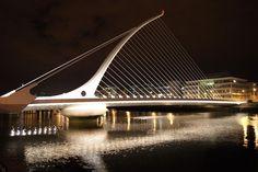 Samuel Beckett Bridge by Santiago Calatrava