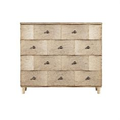 Ocean Breakers Dresser in Sandy Linen