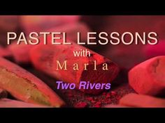 Pastel Painting - How to Paint Water Loosely - YouTube