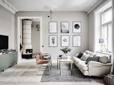 If you want a Scandinavian living room design, there are some things that you should consider and implement for this interior style. Wood as a material has an important role as well as light colors, because they give the living… Continue Reading → Grey Walls Living Room, Living Room Paint, Living Room Decor, Living Rooms, Living Room Scandinavian, Scandi Home, Scandinavian Interior, Scandinavian Style, Living Room Update