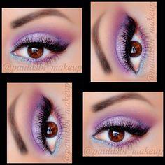 Cute purple