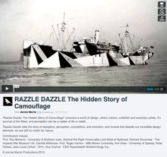 C A M O U P E D I A: Jonnie Morris Film on Dazzle Camouflage