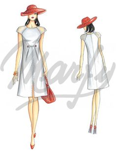 Our Patterns :: Marfy Collection 2014/2015 :: Spring/Summer :: Sewing Pattern 3366 -