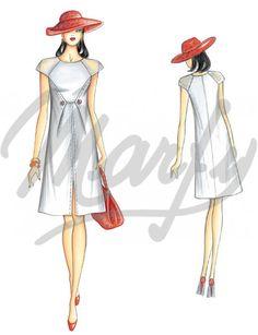 Nuestros Patrones :: Marfy Colección 2014/2015 :: Primavera/Verano :: Patrón de costura 3366 -