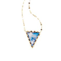 Lana Jewelry | Mesmerize Triad Necklace | Rainbow Moonstone and Black Onyx Doublet