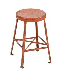 Awesome Workbench Stool with Back