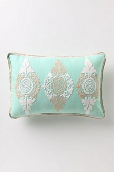perfect combination of grey and seafoam, femininity and clean. $58 #Anthropologie #PinToWin