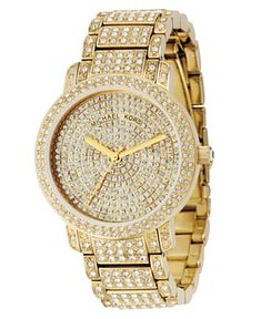 Michael Kors Crystal & Stainless Steel B. to the ling - BLING. Sweet not diggin the gold though Michael Kors Outlet, Handbags Michael Kors, Michael Kors Watch, Jewelry Accessories, Fashion Accessories, Cartier, Dior, Mk Watch, Swarovski
