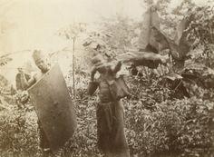 Guerriers pahouins / non identifié (1890/1900)