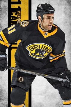 #11 Gregory Campbell Boston Bruins