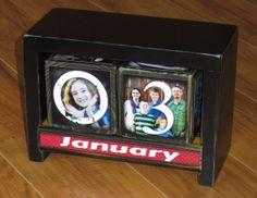 Custom PHOTO calendar Personalized with 12 by WasteNotRecycledArt, $69.50