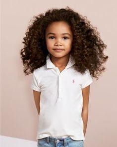 Polo Ralph Lauren Girls' Mesh Knit Polo - Little Kid - Baja Pink Beautiful Children, Beautiful Babies, Kids Girls, Little Girls, Toddler Girls, Mixed Girls, Mixed Babies, Polo Shirt Girl, Shirts For Girls