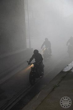 Riders In The Fog