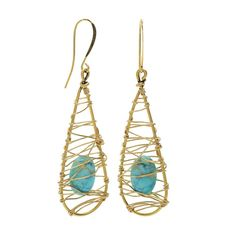 Brags on You! A lot of fun projects and tutorials have been added to Beadaholique's site! View each of the project tutorials by clicking on the images. Elysia Earrings made with Nunn Design Open Wire Frames.