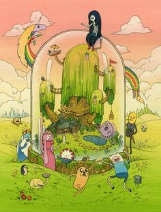 Adventure Time stolp