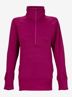 Burton [ak] Women's Lift Half Zip Fleece | Burton Snowboards Winter 15