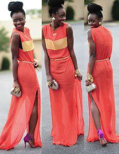 Orange Crush (by Skinny Hipster) http://lookbook.nu/look/4163034-Orange-Crush