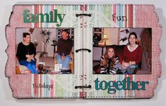 Today, I am sharing my Christmas Mini Album that I made for Magenta in January. While I used the cute bracket December Daily Album. Christmas Mini Albums, Christmas Minis, Magenta, Photo Wall, December Daily, Cute, Scrap, Photograph, Kawaii