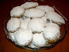Greek Recipes, Wine Recipes, Vegan Recipes, Greek Pastries, Greek Sweets, Muffin, Food And Drink, Ice Cream, Cookies