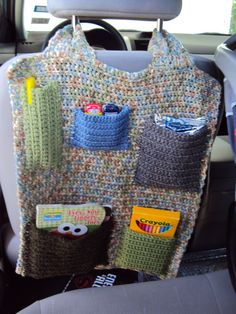 Kids Car Carry All by jdfootloose on Etsy, $22.00