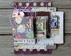 Want2Scrap: Mini Album by Wendy Morris