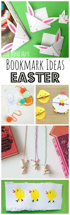 Easter Bookmark Craf