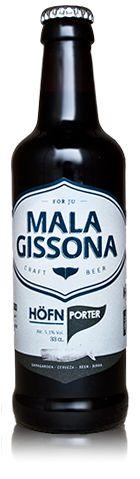 Mala Gissona Höfn Porter - Craft Beer