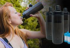 Llega Naked Filter la botella que te garantiza que beberás agua completamente limpia