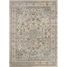 Mahalia Printed Rug Neutral Multi Pottery Barn
