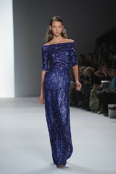 Ellie Saab  How pretty is this?  Not that I could pull this off.