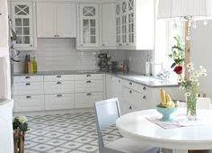 Bildresultat för schackrutigt golv kök
