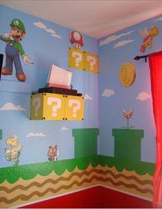 Super Mario Bros Bedroom By Erinfist