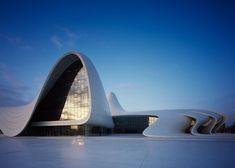 Photographs of Zaha Hadid's Heydar Aliyev Centre by Hélène Binet