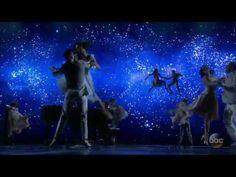 John Legend performing city of Stars