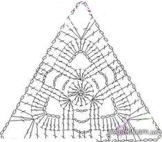 butterflycreaciones / fanaticadel tejido: Motivos triangulares túnica delicados. Esquemas