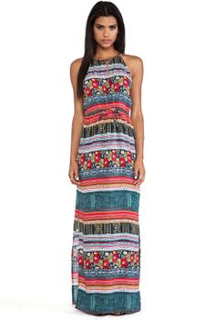 MinkPink Folk Frenzy Maxi Dress on shopstyle.com