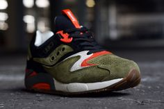 Saucony & UBIQ 'Dirty Martini' Grid 9000: liquid lunch guitar | FREE Global Sneaker Shipping | CrookedTongues.com — Selling soles since 2000...