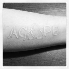 AGAPE = the unconditional love of God