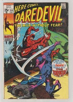 Daredevil Vol 1 59 Silver Age Comic Book. FN. by RubbersuitStudios #daredevil #silveragecomic #comicsforsale