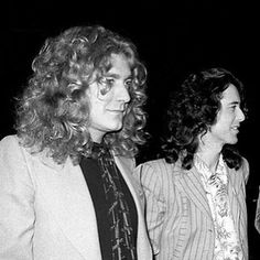 I cropped Peter out again {#robertplant} {#jimmypage} {#ledzeppelin} {#mycroppingoutpetergameisstrongaf}