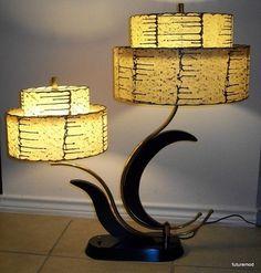 Fabulous 1950's Majestic Lamp