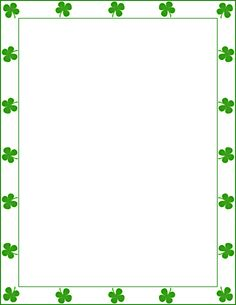 St+patricks+day+clip+art+ Clip Art Graphic of a st-patricks-day-clip-art-woman Shamrock Clip Art Photos . Borders For Paper, Borders And Frames, Saint Patricks Day Art, Printable Border, Page Frames, Page Borders, Doodle Borders, Free Printable Stationery, Border Templates