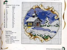 Gallery.ru / Фото #3 - домики, схема на 1 лист - irinika